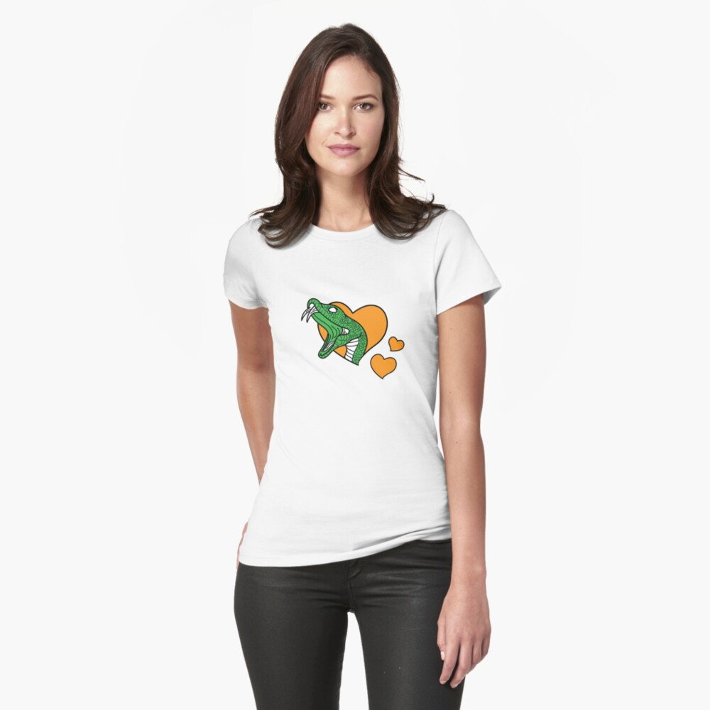 Rattler Love Fitted T-Shirt