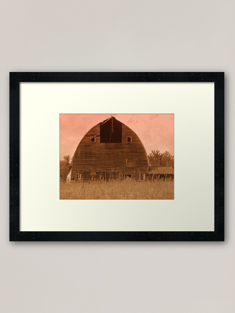 Alternate view of Aged Beauty Framed Art Print