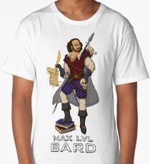 Shakespeare - The Original RPG Bard Long T-Shirt