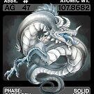 Scygon Elemental Card #9- Silver by Lucieniibi