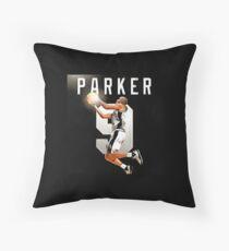 tony parker Throw Pillow