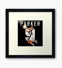 tony parker Framed Print