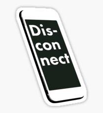 Disconnect Sticker