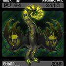 Scygon Elemental Card #12- Plutonium by Lucieniibi