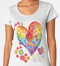 Marriage Equality - All You Need is Love Women's Premium T-Shirt