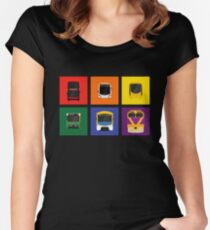 Transport Pride Women's Fitted Scoop T-Shirt