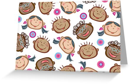 Happy Silly Faces by fatfatin