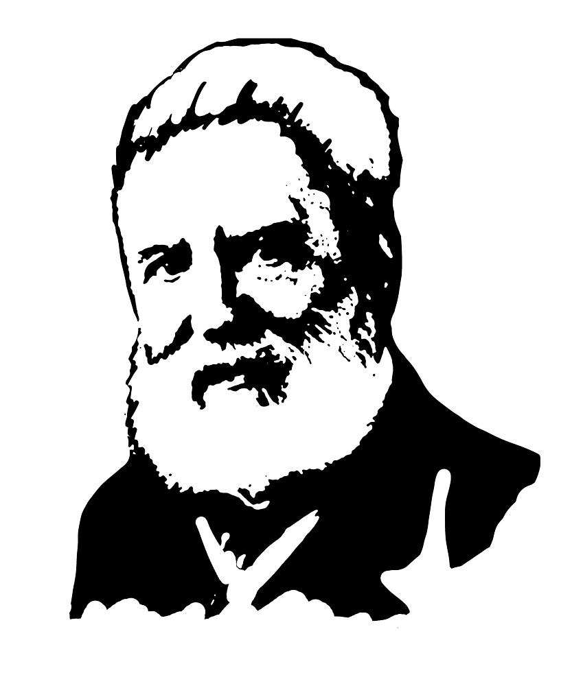 Alexander Graham Bell By Michaelrellov Redbubble