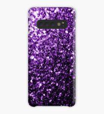Funda/vinilo para Samsung Galaxy Hermoso brillo púrpura oscuro brilla