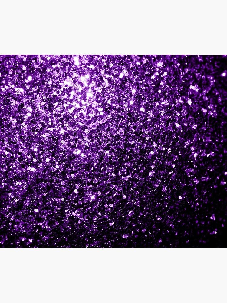 Beautiful Dark Purple glitter sparkles by PLdesign