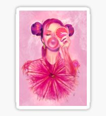 Gummy Girl Sticker