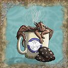 [Tea Cup Dragon] Mocha by MeaKitty