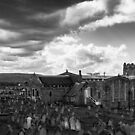 Clouds over Whitby by Derek Corner