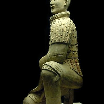 Full figure Archer of the Terracotta Soldiers by clayjars