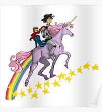 Unicorn Johnlock Poster