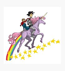 Unicorn Johnlock Photographic Print