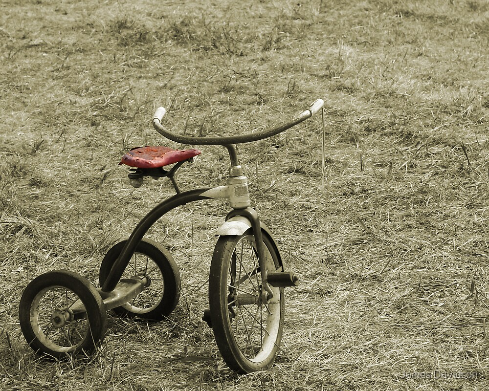 Old Tricycle by James Davidson