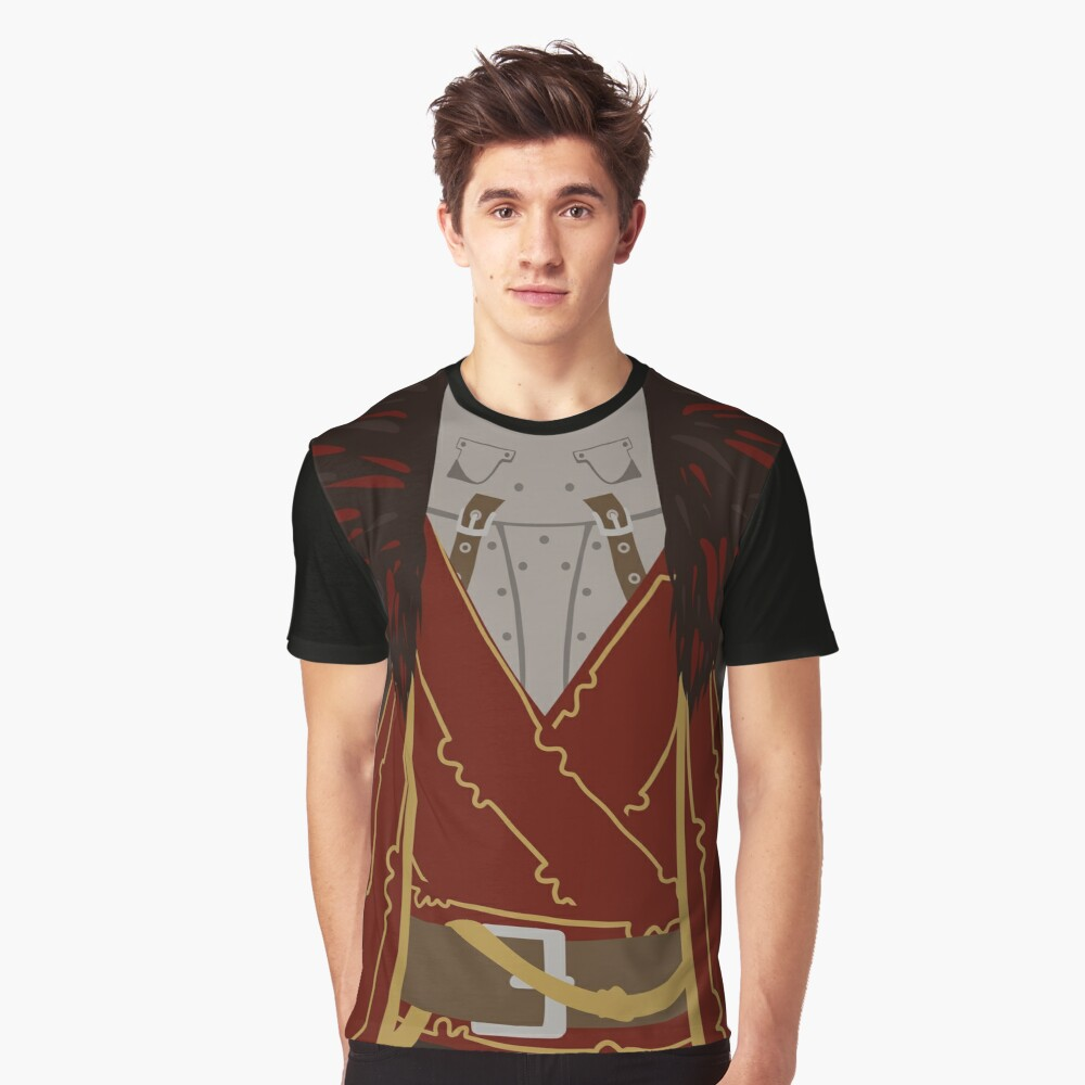 Commander Cullen Graphic T-Shirt Front