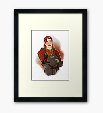 Captain of the Guard Framed Print