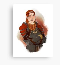 Captain of the Guard Canvas Print