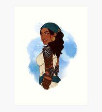 Queen of the Eastern Seas Art Print