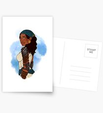 Queen of the Eastern Seas Postcards