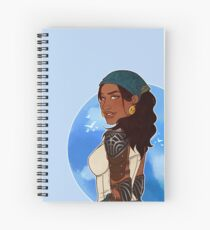 Queen of the Eastern Seas Spiral Notebook