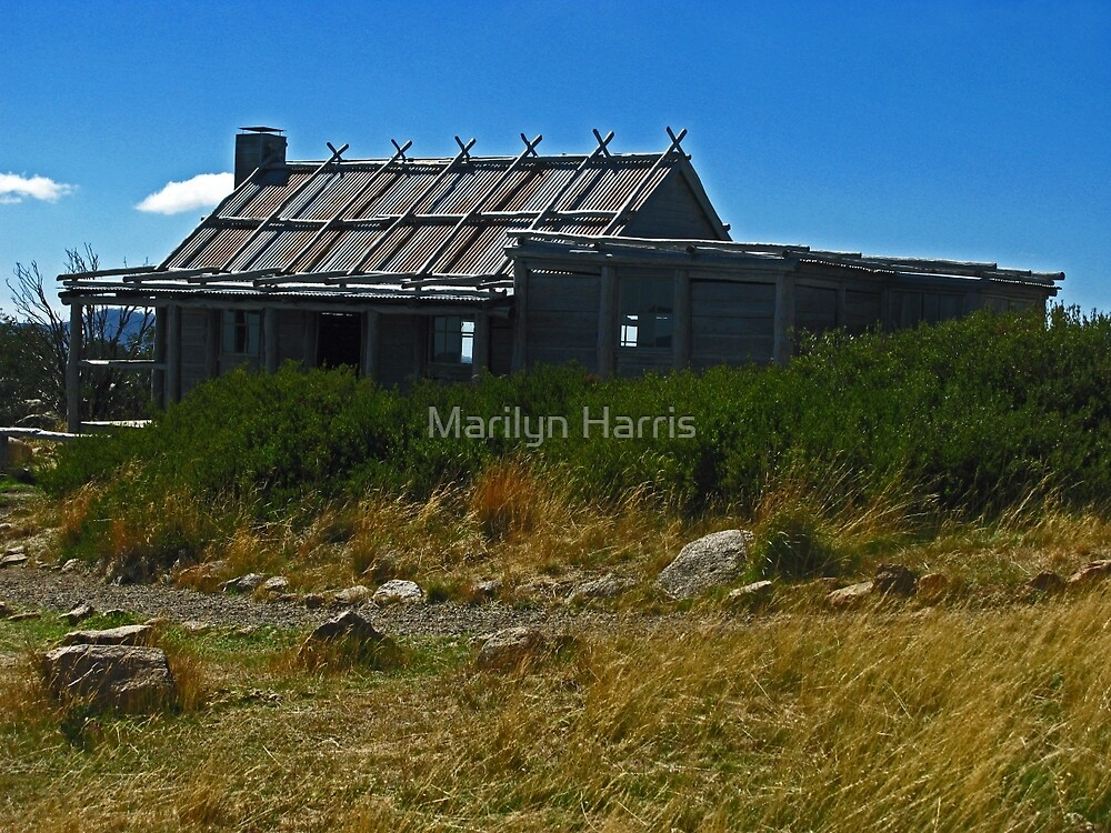 Craig's Hut - Victoria's High Country by Marilyn Harris