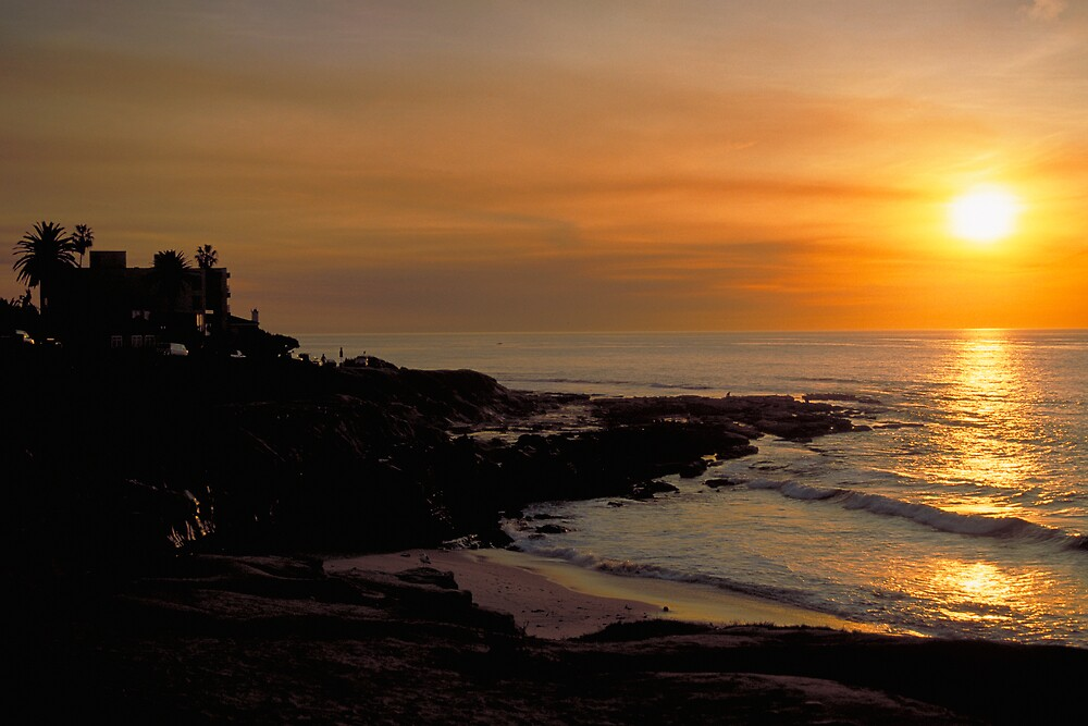 San Diego Sunset by Glenn Barnett