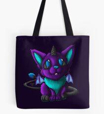 The Blue Galaxy Demon Tote Bag