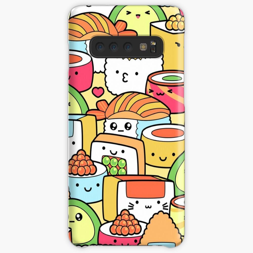 Kawaii Sushi Samsung Galaxy Snap Case