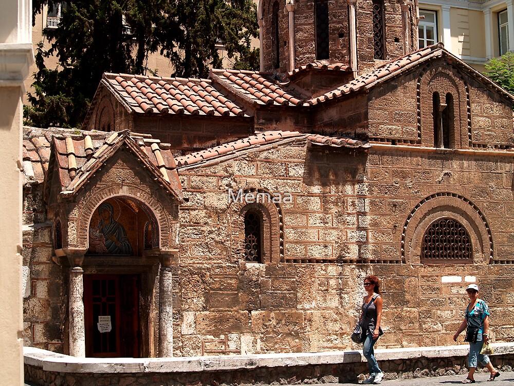 The Kapnikarea Church in Athens by Memaa