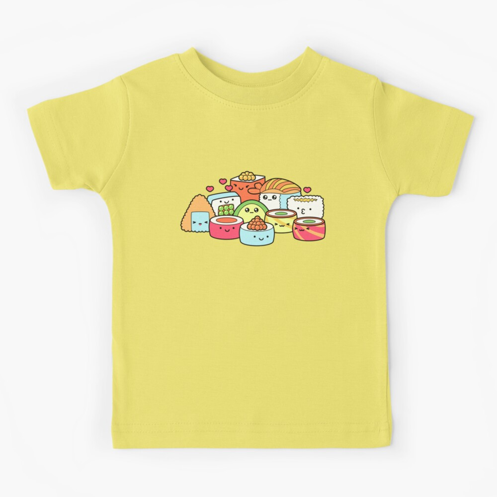 Kawaii Sushi Kids T-Shirt