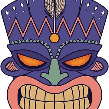 Tiki Mask by ohmyjays