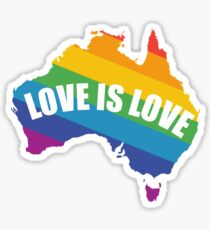 Vote YES For Marriage Equality In Australia Sticker