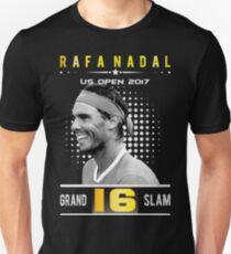 Rafa Nadal Grand Slam 16 Unisex T-Shirt