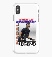 Rafael Nadal The Legend  iPhone Case/Skin