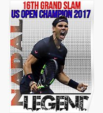 Rafael Nadal The Legend  Poster