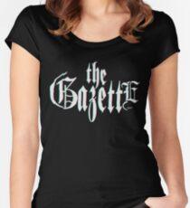 THE GAZETT3D Tailliertes Rundhals-Shirt