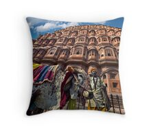 Holy Cow - Throw Pillow by Glen Allison
