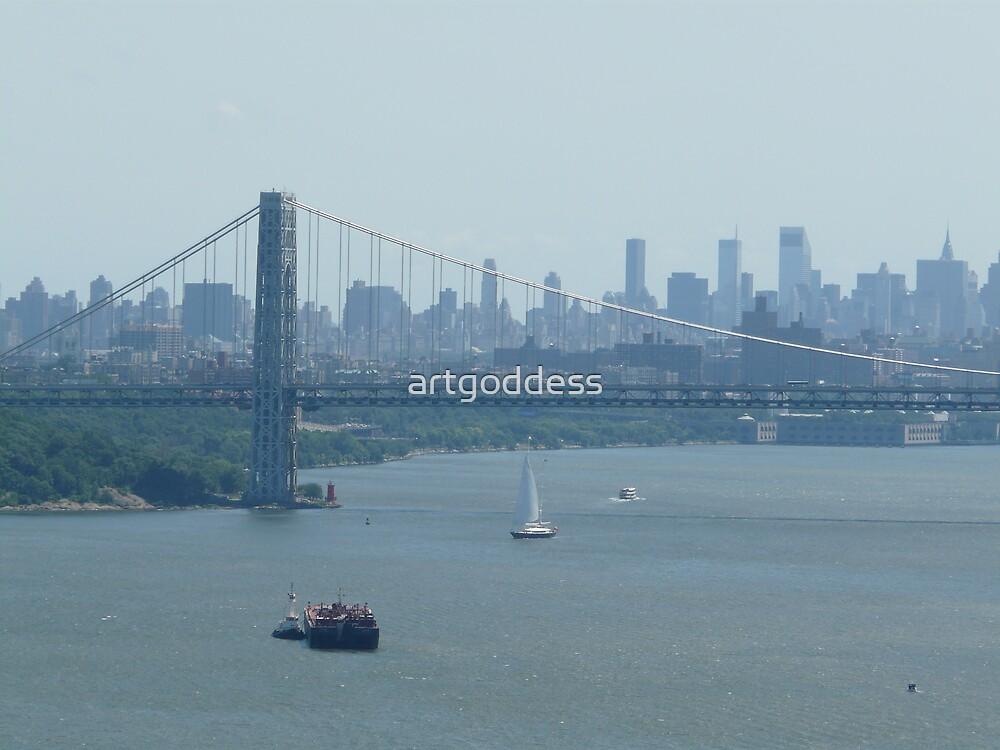 New York Skyline by artgoddess