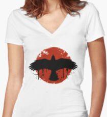 Before The Storm Bird Logo - Life is Strange Women's Fitted V-Neck T-Shirt