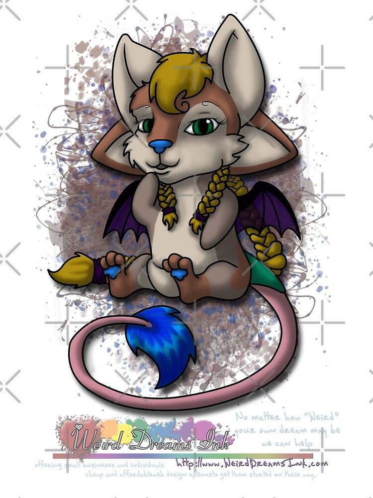 Chibi Mira - WDi Mascot by MeaKitty