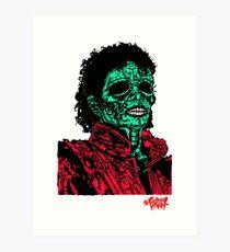 Thriller Infected  Art Print