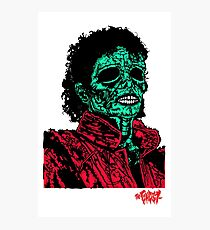 Thriller Infected  Photographic Print