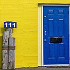 blue door by Manon Boily