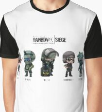 Group Rainbow Graphic T-Shirt