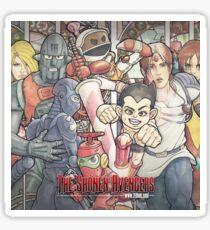 THE SHÕNEN AVENGERS #1 (ZeMiaL) Sticker