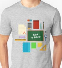 School Supplies Pattern - Back to School Time T-Shirt
