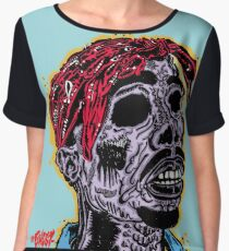 2Pac Infected  Chiffon Top
